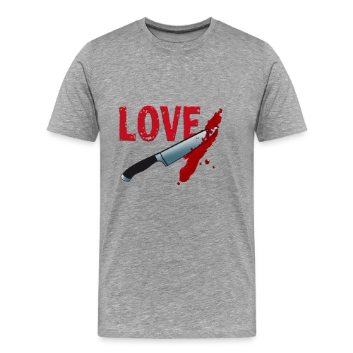 Bloody Love - Männer Premium T-Shirt
