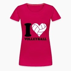 I love Volleyball T-shirts