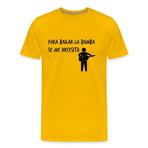 Para bailar la bamba Black - Camiseta premium hombre