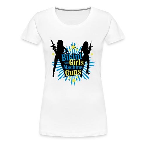 Bikini Girls (F) - Frauen Premium T-Shirt