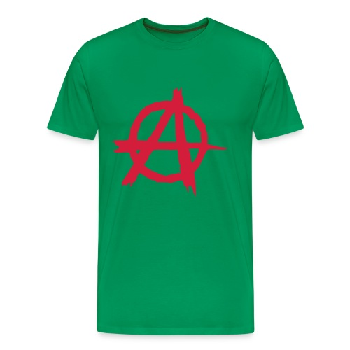 anarchy_khaki_men - Men's Premium T-Shirt