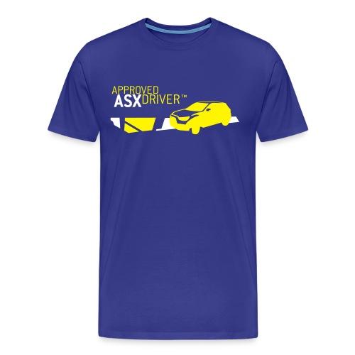 approved asx driver shirt - Männer Premium T-Shirt