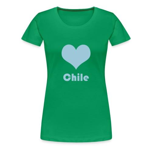 ♥ Chile - Frauen Premium T-Shirt