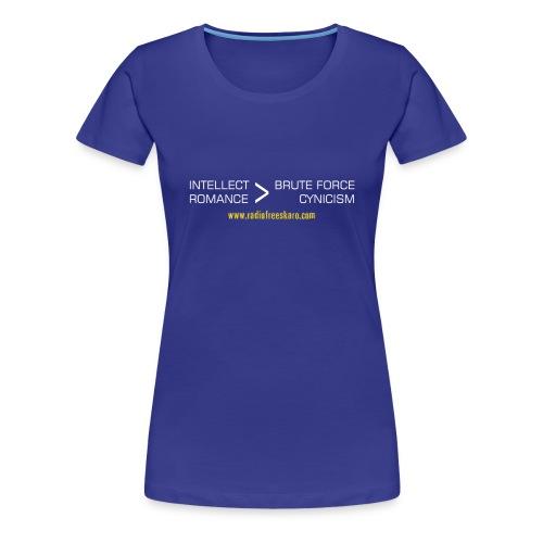 Intellect & Romance (T-Shirt) - Women's Premium T-Shirt