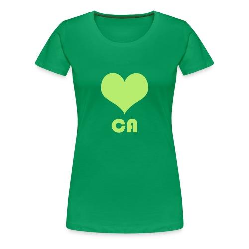 ♥ CA - Frauen Premium T-Shirt