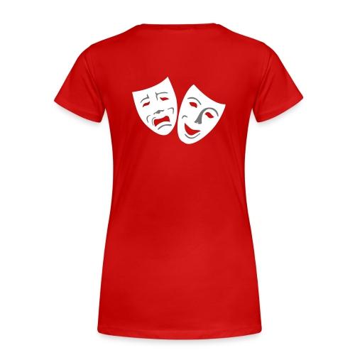 Girlieshirt Millowitsch-Fan - Frauen Premium T-Shirt
