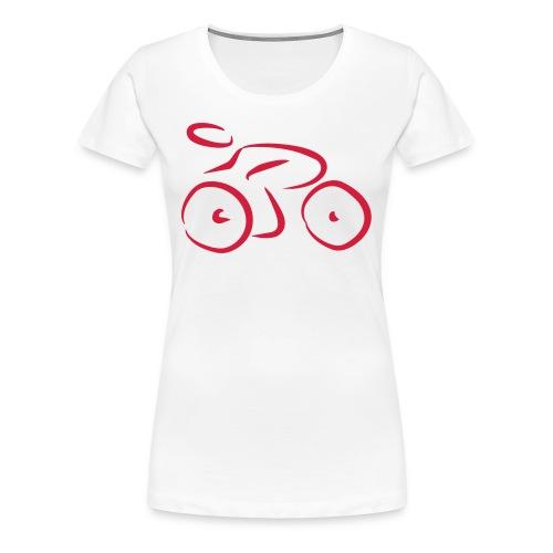 bici - Camiseta premium mujer