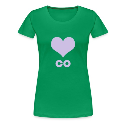 ♥ CO - Frauen Premium T-Shirt