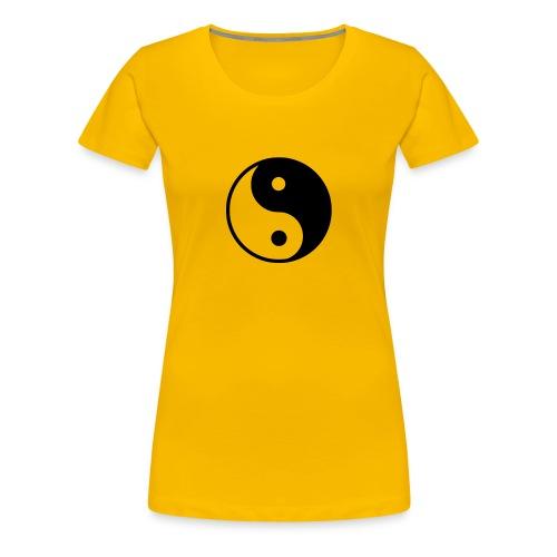 Harmonie zwischen weiblich und männlich - Frauen Premium T-Shirt