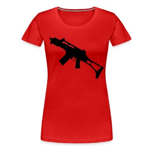GamersFun - Frauen Premium T-Shirt