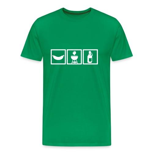 Barbecue Basics (Grillen Shirt) - Männer Premium T-Shirt