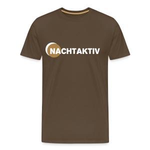 Nachtaktiv (Party Shirt) - Männer Premium T-Shirt