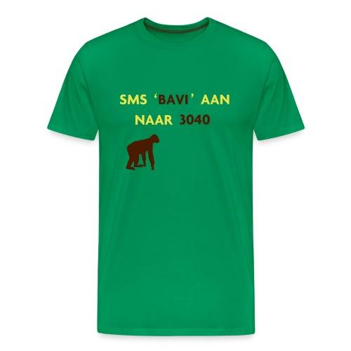 SMS BAVI AAN NAAR 3040 - Mannen Premium T-shirt