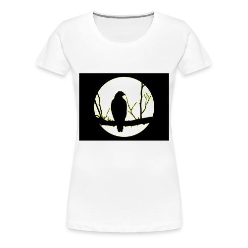 Hawk and The Moon - Premium-T-shirt dam