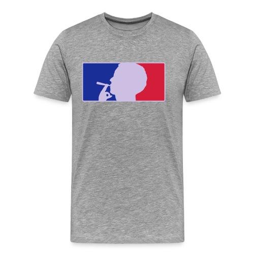 Smoker League - Shirt  - Männer Premium T-Shirt