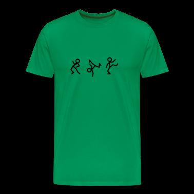 Dancing stick figure T-shirt