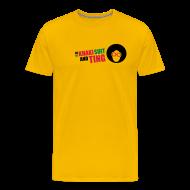 T-Shirts ~ Men's Premium T-Shirt ~ Khaki Suit & Ting