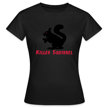 Killer Squirrel T-Shirts