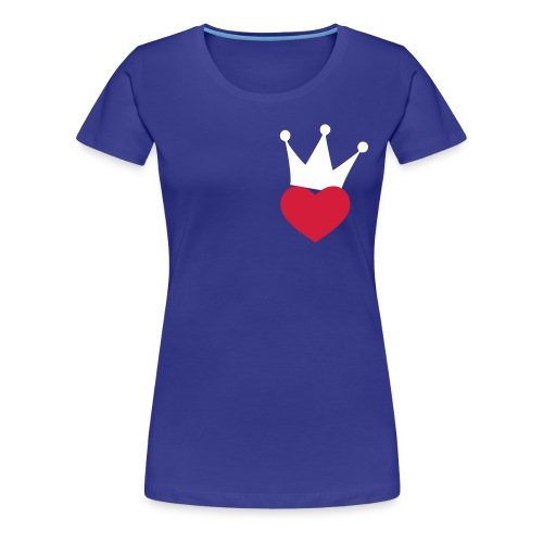 Corazon Coronado - Camiseta premium mujer