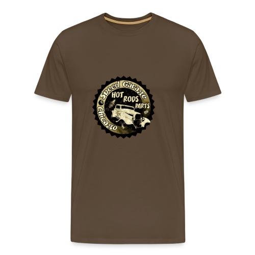 Hot Rod Speed Garage - Chicago - T-shirt Premium Homme