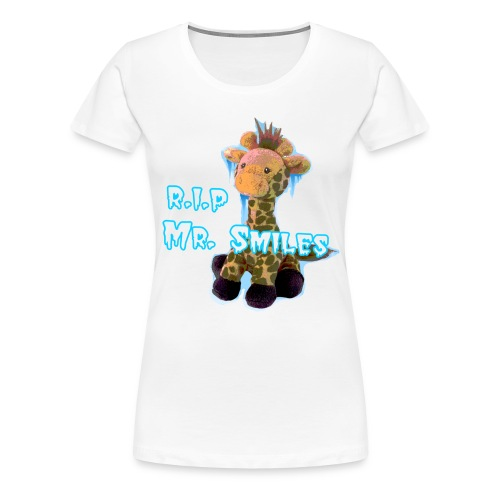 RIP Mr. Smiles - Female - Women's Premium T-Shirt