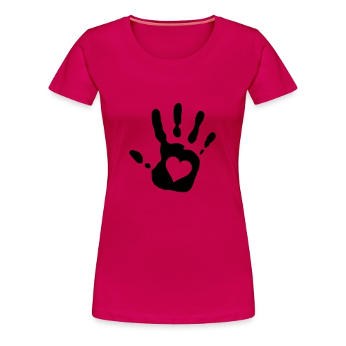 Hand weg  - Frauen Premium T-Shirt