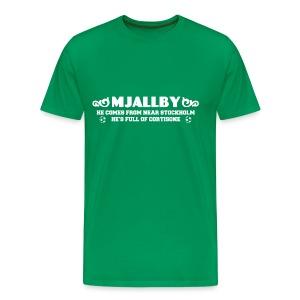 Mjallby - Men's Premium T-Shirt