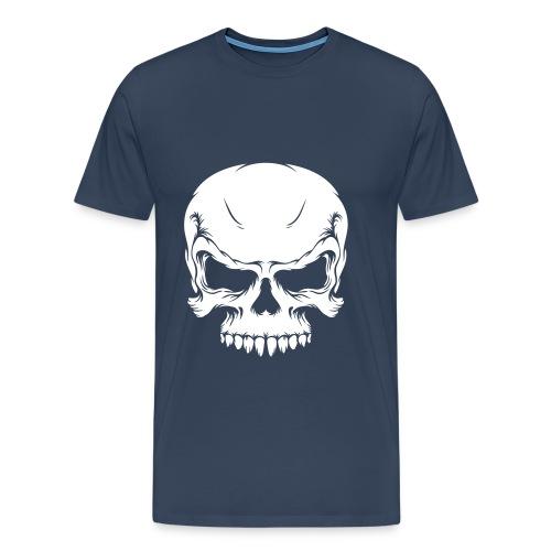 Större T-shirt med tryck - Premium-T-shirt herr
