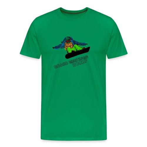 Board Meetings Rock - Men's Premium T-Shirt