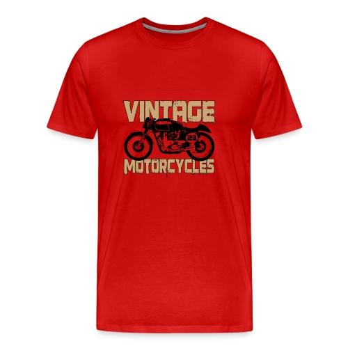 Vintage Bicycle - T-shirt Premium Homme