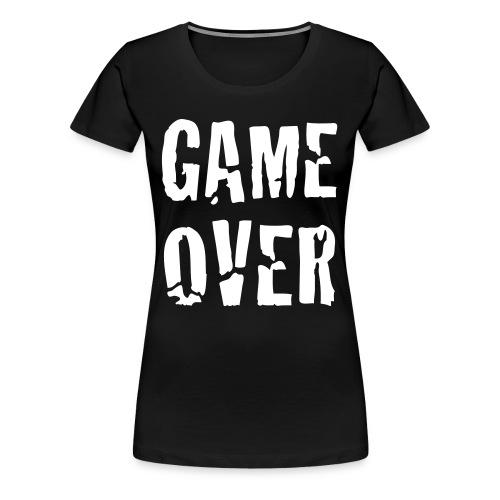 T-Shirt Game Over - T-shirt Premium Femme