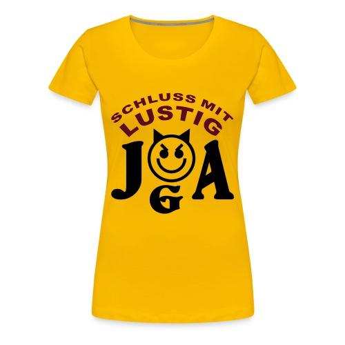 JGA - Schluss mit LUSTIG in rosa - Frauen Premium T-Shirt