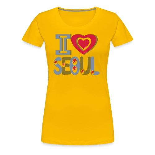 I LOVE SEOUL T-SHIRT - T-shirt Premium Femme