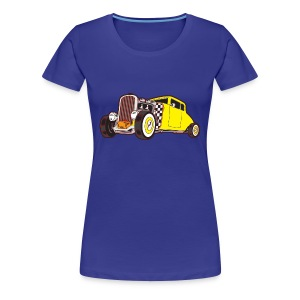 US Hot Rod - Frauen Premium T-Shirt