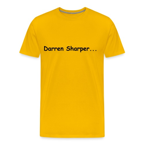 DARREN SHARPER - Men's Premium T-Shirt