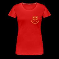 T-Shirts ~ Frauen Premium T-Shirt ~ Wappen der Siebenbürger Sachsen - Transylvania, Erdely, Ardeal, Transilvania