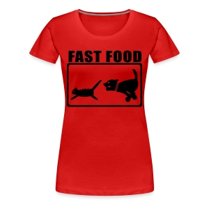 Fast Food - Frauen Premium T-Shirt