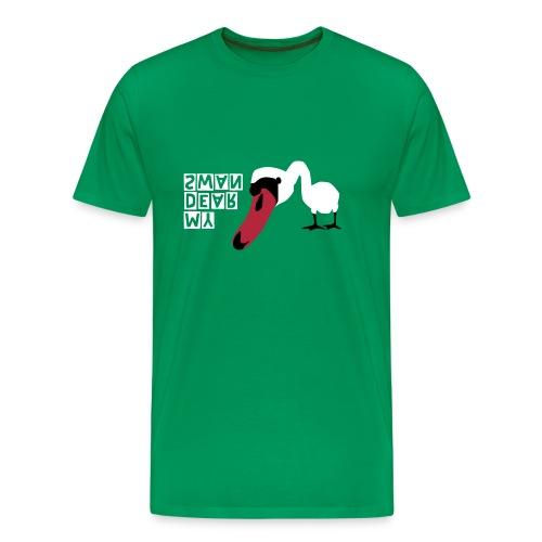 MY DEAR SWAN - Männer Premium T-Shirt
