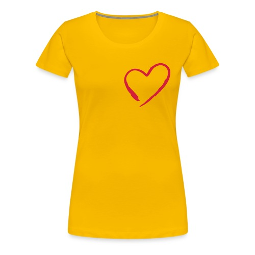 My heart - Maglietta Premium da donna