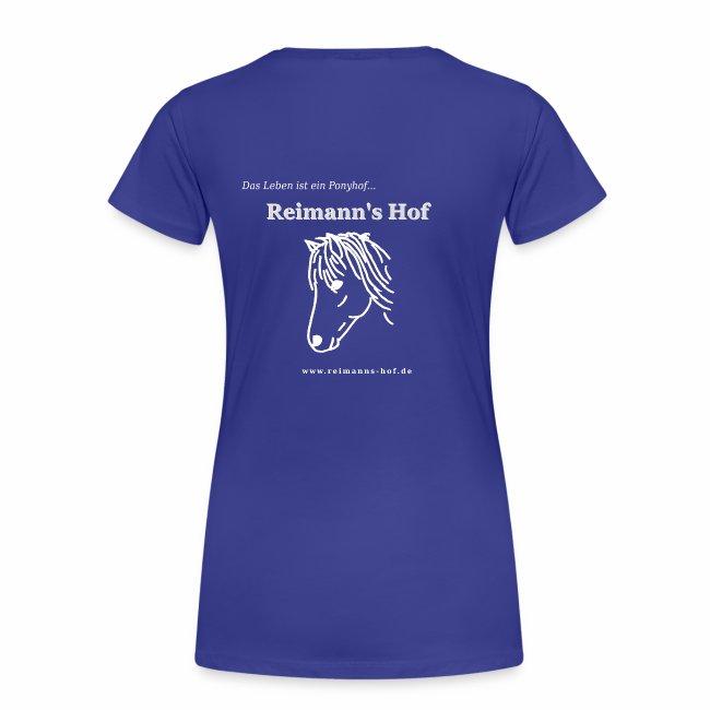 Damen T-Shirt Reimann's Hof -Ponykopf-