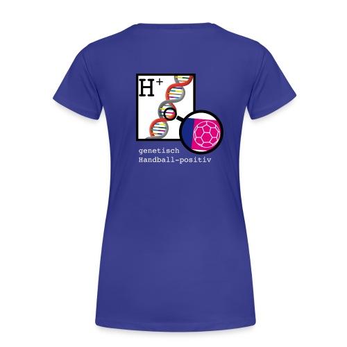 Handball positiv W - Frauen Premium T-Shirt