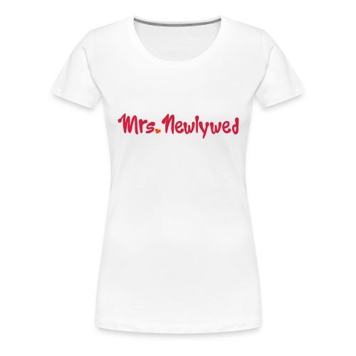 Mrs Fitted T Shirt - Women's Premium T-Shirt