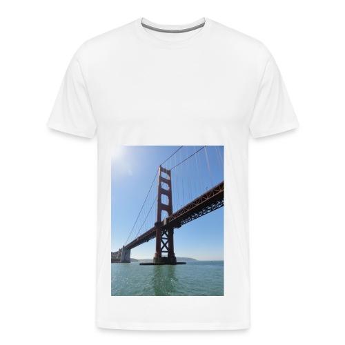 Goldengate Brigth Shirt mann - Männer Premium T-Shirt