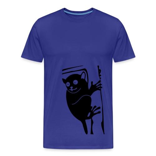 Hey lil monkey - Men's Premium T-Shirt