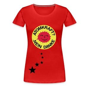 Atomic - Stars - Frauen Premium T-Shirt