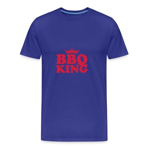 BBQ KING MANS T-SHIRT - Men's Premium T-Shirt