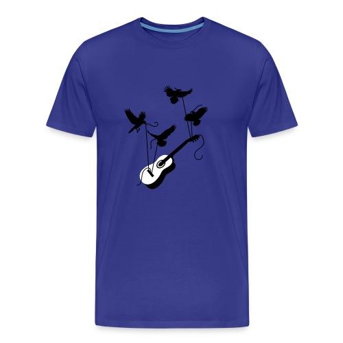 Gitarre (Musik Shirt) - Männer Premium T-Shirt