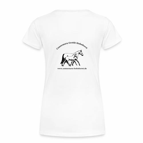 Damen Girlie Shirt Gestüt Hohnhorst - Frauen Premium T-Shirt