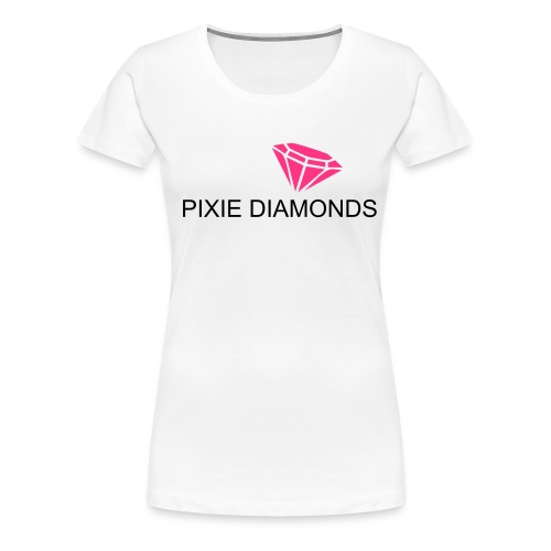 PIXIE DIAMONDS  - Vrouwen Premium T-shirt
