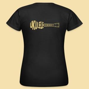 Girlieshirt: Ukulele Ukulele (Motive: light) - Frauen T-Shirt